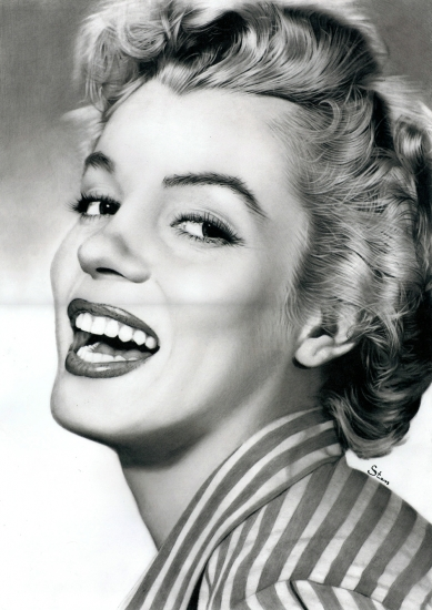 Marilyn Monroe by Stan